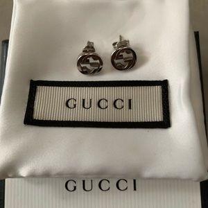 GUCCI Silver earrings